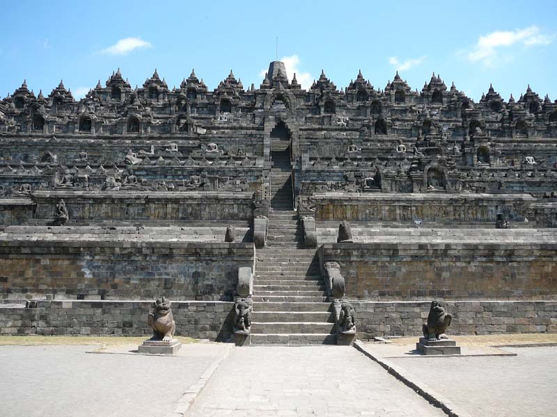 Borobudur Temple - Central Java
